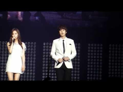 [fancam] SM Town Paris 10.06.2011 - Seohyun & Kyuhyun Way Back Into Love HD