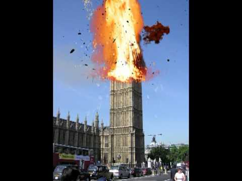 Big Ben Explodes!! .... Effects Tryout!