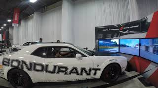 Racecar Simulator at the State Fair of Texas