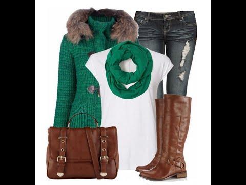 Look casual de invierno con botas