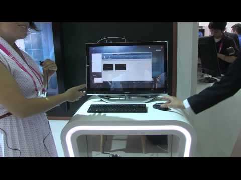 Samsung Smart School Connected Classroom Solution Walk Through - Computex 2012