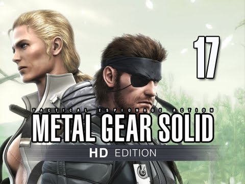 Metal Gear Solid 3 Snake Eater Collection Walkthrough - Part 17 BOSS The Fury Let's Play