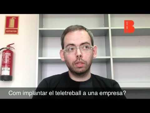 Dia del'Oficina a Casa. Presentació de la monografia sobre teletreball (Jordi Morell)
