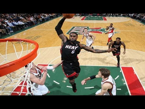 LeBron James Top 10 Dunks 2012 Pt. 1 (Stay Schemin Mix)