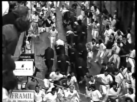 Encierro San Fermin Pamplona del día 13 7 1988 RE LENTA