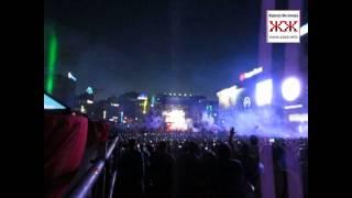 Музыкальное-световое шоу в Киеве посвященное 20-летию МТС