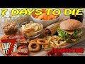 7 Days to Die [ STARVATION ] ► Приготовление еды ► №1