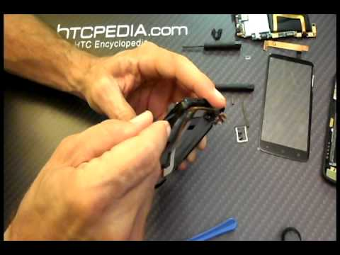 HTC One X Screen Replacement - Battery replacement - Full Teardown