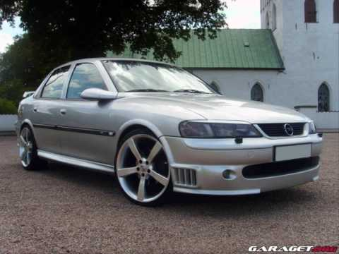 Opel Vectra B Irmscher Tuning