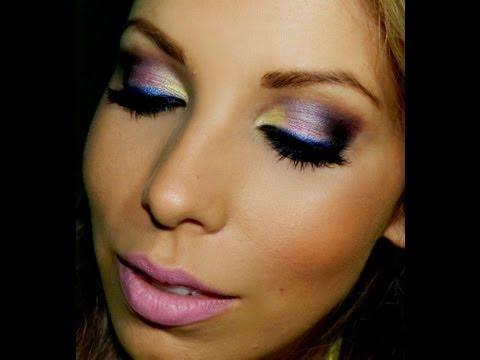 Maquiagem colorida para o ano novo, com Lu Ferraes