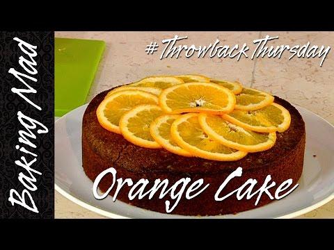 Eric Lanlard's Orange Cake Recipe | #TBT