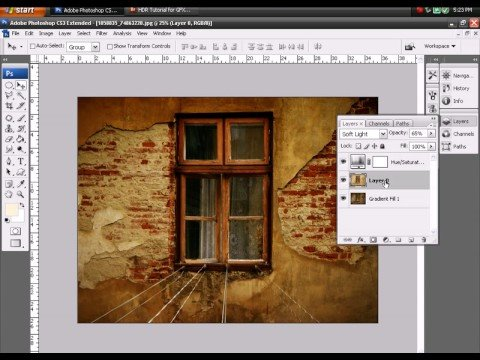 Photoshop HDR Tutorial