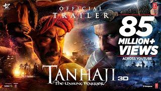 Tanhaji: The Unsung Warrior - Official Trailer