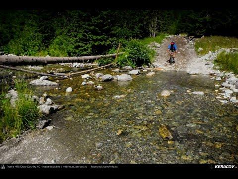 VIDEOCLIP Traseu cu bicicleta MTB Petrimanu - Curmatura Oltetului - Polovragi - Horezu - Tomsani - Babeni