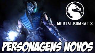 Mortal Kombat X - Trailer NOVO, MUITOS PERSONAGENS REVELADOS