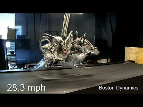 Cheetah Robot Can Run 28 MPH
