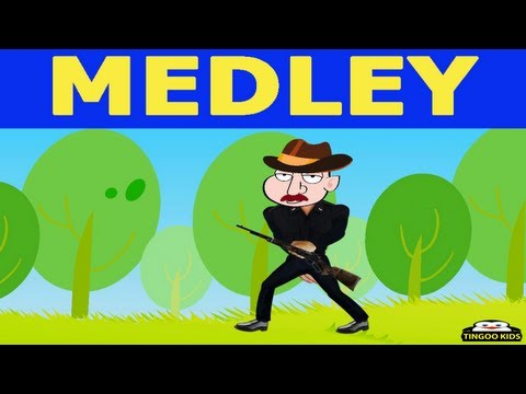 nursery rhymes in English with lyrics | My Bonnie | Medley 2