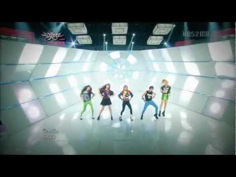 f(x) - Electric Shock LIVE in 1080p on 6-15-12