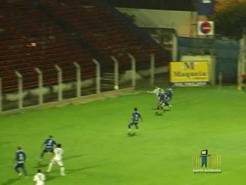 União Barbarense 2x1 Osvaldo Cruz - Paulista A2 2010
