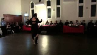 Tangueros Performance 1 - Gala Milonga May 25th 2013