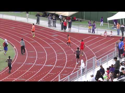 Region II-5A Boys 300 Hurdles H 1 & 2