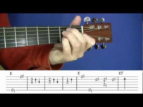 Acoustic Blues Techniques - #2 Lightnin' Hopkins - Guitar Lesson - Jim Bruce