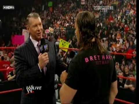 WWE Monday Night Raw 2010-01-04 Bret Hart Returns Part 3