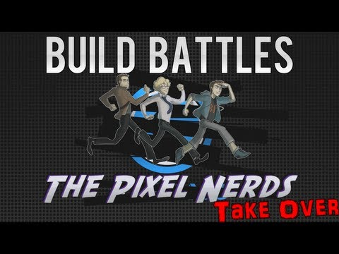 Minecraft Build Battles: The Pixel Nerds Takeover