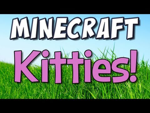 Minecraft - Kitties! [Mo- Creatures Update Preview!]