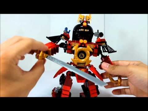 Lego Ninjago Samurai Mech Review 9448