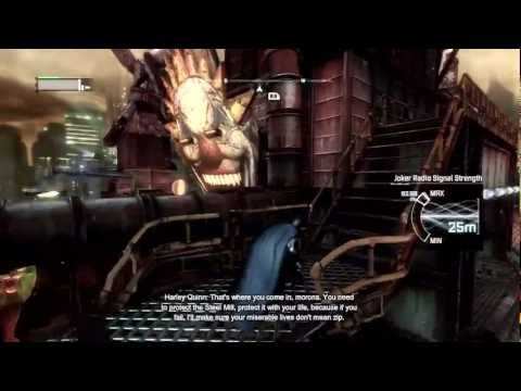 Batman Arkham City - Walkthrough - Part 4 - Tracking Down Joker (Gameplay & Commentary) [360/PS3/PC]