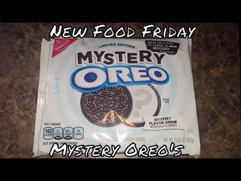 New Food Friday, Mystery Oreos! - UCI0QXp3M5WFrZhYT6MN_byQ