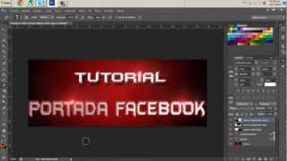 Tutorial || hacer portada para facebook con photoshop cs6 cs5 cs4 y cs3