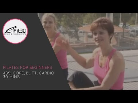 Pilates for Beginners Full 30 minute workout - eFit30