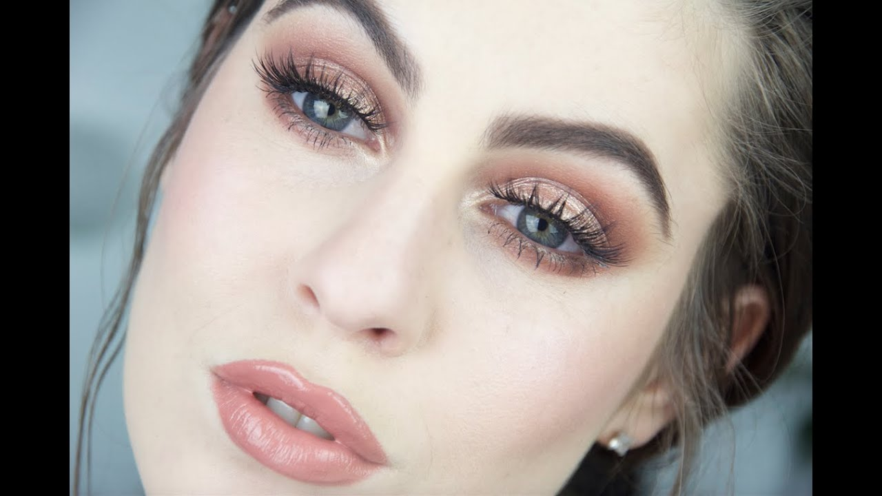 Makeup for fair skin and blue eyes