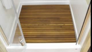 Charming Teak Shower Mats|Quality Teak|Teak Shower Mat Large|Teak Wood Shower Floor|Teak  Wood Shower Mat   YouTube