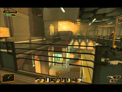 Deus Ex: Human Revolution - Foxiest / Pacifist Playthrough Part 5 (Highland Park FEMA Facility)