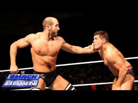 Cody Rhodes vs. Antonio Cesaro: SmackDown, Dec. 27, 2013