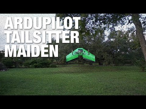 SweepWings Flinch & ArduPilot Tailsitter Backyard Maiden - UC_LDtFt-RADAdI8zIW_ecbg