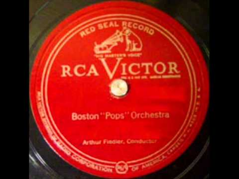 Stars And Stripes Forever(Sousa) by Arthur Fiedler & Boston Pops on 1937 RCA Victor 78.