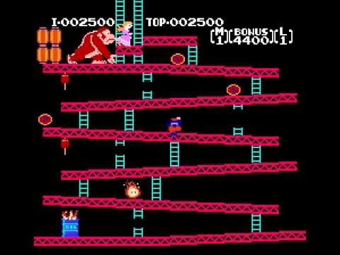 Donkey Kong - Donkey Kong (NES) - Vizzed.com Play - User video