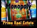 MONOPOLY Prime Reel Estate Slot Machine Bonuses!  ~ WMS (Monopoly)