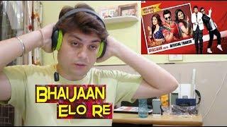 Bhaijaan Elo Re Official Trailer Reaction | Shakib Khan | Srabanti | Reaction By Ashish Handa