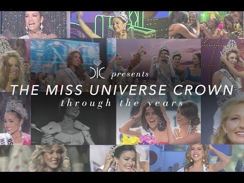 بالفيديو :  شاهد لحظات تتويج ملكات جمال الكون 1958 - 2014