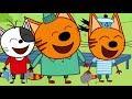 Фрагмент с средины видео - Три кота - Сборник лучших занятий на каникулах