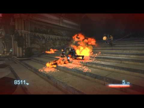 """Bulletstorm"", HD walkthrough (Very Hard), Act 5 - Burnout Paradise, Ch.2 - How do we solve that?"
