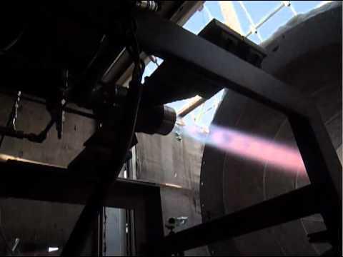 ロケット燃焼実験