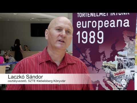 Europeana 1989 - Collection Days, Szeged, May 23-24, 2014