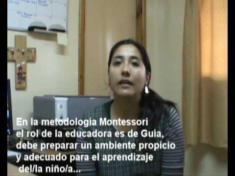 Método Montessori Jardín Sol Naciente