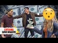 CATCHING GOLD DIGGERS! - $1,000,000 Gold Digger Prank on Cheater Girlfriend!!! | 2018